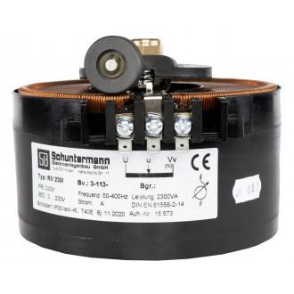 Stelltranformator 230V/0~230V 10A 3Pkt. Befestigung