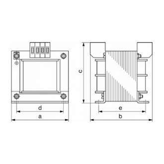 Transformatoren Baureihe EI 20VA ~ 1.6kVA