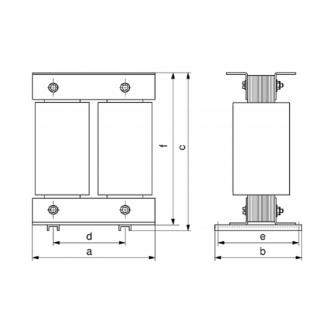 Transformatoren Baureihe ETR 16 ~ 100kVA