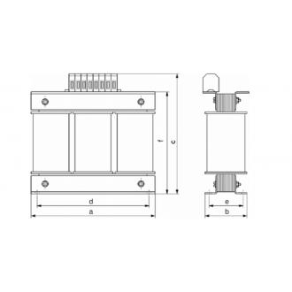 Transformatoren Baureihe 3UI 100VA ~ 20kVA