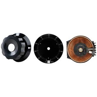 Stelltransformator 230V/0~230V 1.25A 3-Pkt. Befestigung